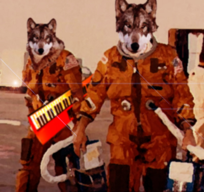 Wolf+In+A+Spacesuit