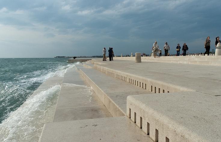 Un architetto croato ha fatto costruire un organo che trasforma le onde del mare in musica