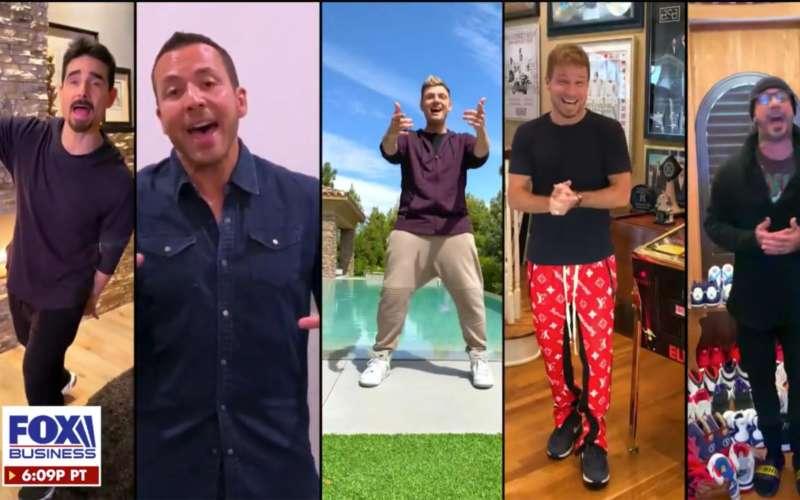 Backstreet Boys, la reunion virtuale che fa impazzire i fan