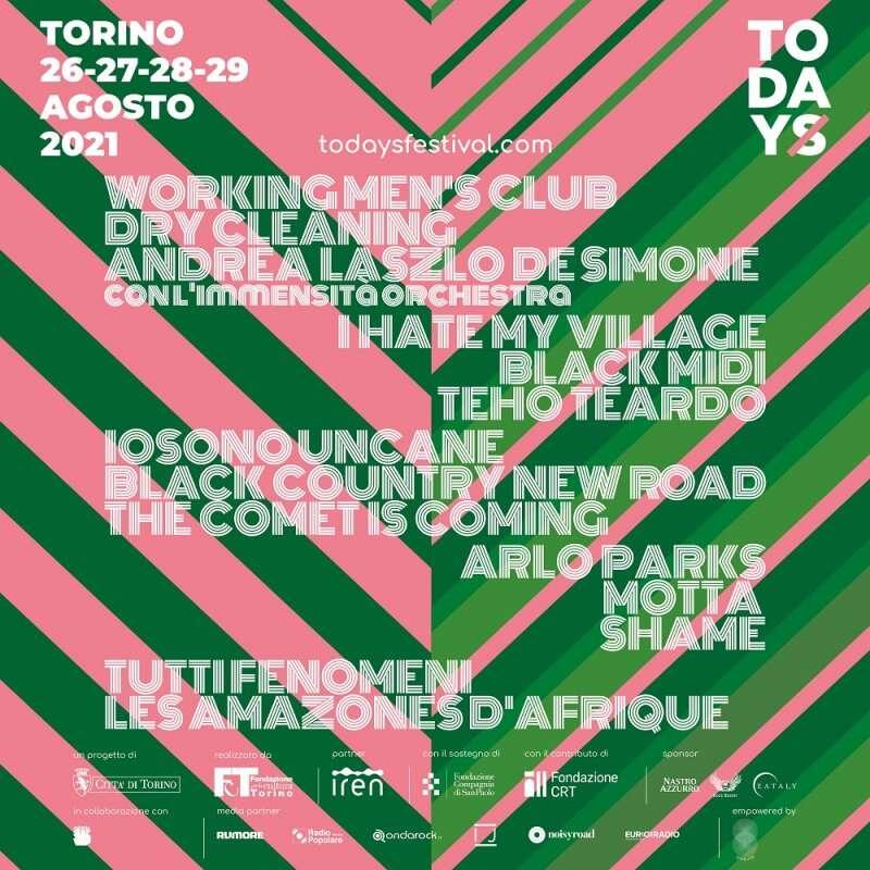 TOdays Festival, appuntamento a Torino dal 26 al 29 agosto